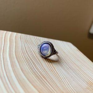 Purple Tone Stone Ring